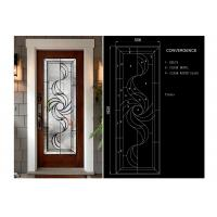China Colorful Float Translucent Glass Panels , Decorative Door Glass 3-8 Mm Thickness wholesale
