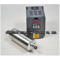 China 900Hz 5.5KW 380V Air Bearing Spindle , CNC Machine Accessories for Stone Process wholesale