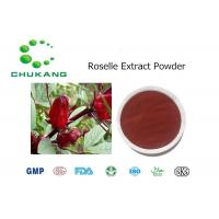Quality Roselle Extract Polyphenol Plant Extract Powder Hibiscus Sabdariffa Linn. for sale