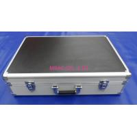 China Black Aluminum Musical Instrument Cases With Foam For Packing Tools wholesale