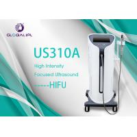 China Vertical Salon Laser HIFU Machine High Intensity Focused Ultrasound For Wrinkle Removal wholesale