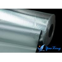 China Thin  Light Weight Aluminum Coated Fiberglass Good Heat Insulation Weather Resistance wholesale