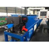 China Automatic Downpipe Roll Forming Machine With Bending And Necking Die wholesale