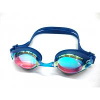 Buy cheap Pro Shatterproof Adult Swim Goggles ,  Anti Fog Triathlon Swimming Goggles from wholesalers