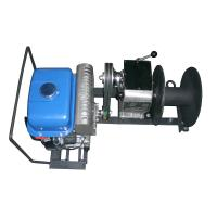 Quality JJM1Q 1 Ton Lifting Cable Winch Puller / Gas Powered Winch 15m / min for sale