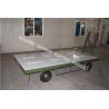Steel 2t Car Flatbed Trailer , Atv Flatbed Trailer 2000kg Loading Capacity