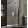 China sliding door small Corner Shower Enclosures Tempered  glass Material Magnet lock strip wholesale