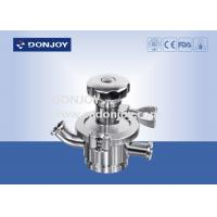 China Manual Tank Bottom Sanitary Diaphragm Valve  for fluid control wholesale