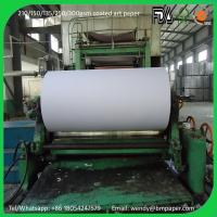 China Two Side Coated Couche Paper Art Paper for Magazine Printing wholesale