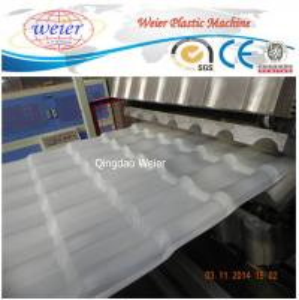 China Professional PVC Corrugated Roof Tile Making Machine 350-650kg/Hour wholesale