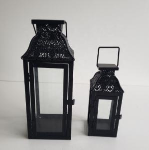 Quality Metal fashional cheap antique white vintage aged metal lantern metal garden for sale