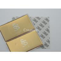 China Gold Color Screen Printing 3D Domed Labels , Raised Doming Labels wholesale