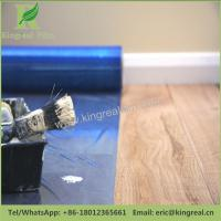 China Blue Color PE Self Adhesive Floor Protection Film during Decoration wholesale