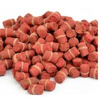 China Hot Selling! Granular Red Smell Grass Carp Baits Crucian Fishing Baits Fishing Lures wholesale