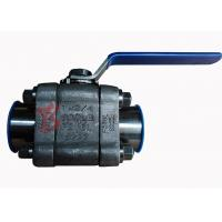 China Reduced Bore Soft Seated Ball Valve F316L , 800LB Small Forged Ball Valve wholesale