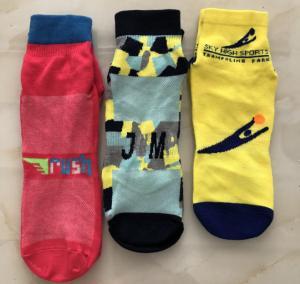 China High Traction Toddler Safety Grip Socks , Kids Non Slip Socks , Knitting Jumping Socks wholesale