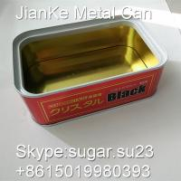 China Tinplate metal aerosol cans rectangle for car care products wholesale