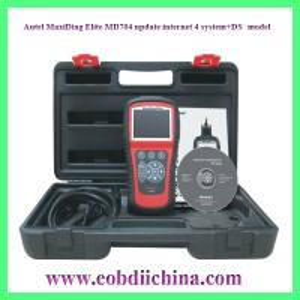 China Autel MaxiDiag Elite MD704 update internet 4 system+DS model wholesale