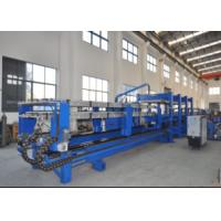 China Color Steel Discontinuous China Foam Pu Sandwich Panel Production Line for Roof Wall Panel Producing wholesale
