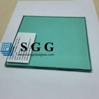 China F Green Laminated Glass Price 8.38mm 10.38mm 12.38mm wholesale