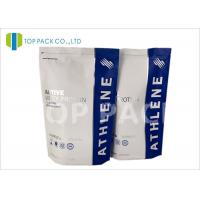Buy cheap Gravure Printed Stand Up Packing Pouch Zipper Closure Prontein Powder from wholesalers