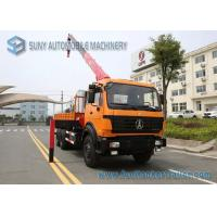 China Beiben NG80 Cabin Truck With Crane 6x4 Crane Mounted Truck 336 hp wholesale