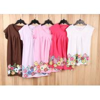 China child brand clothes-6000 pcs cheap Children & kid's Girl Casual tops Tee dress stock lots wholesale
