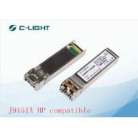 China J9151A HP Compatible SFP+ Transceiver Module LC Connector For 10GBASE-LR on sale