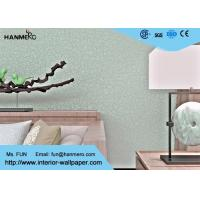 Crevasse Crack Modern Removable Wallpaper With Foaming Treatment And Silver Gloss