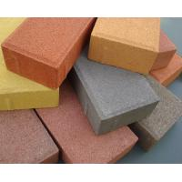 China Plaza And Villa Perforated Concrete Pavers Paving Block Bricks For Building Decoration wholesale