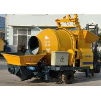 China Light weight 30m3/h electric pumpcrete high pressure concrete mixer pump machine wholesale