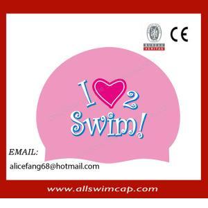 China Best seller custom silicone adult swim caps wholesale