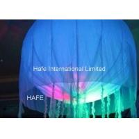 Quality 2.5M / 8.2ft Global Light Up Helium Balloons USA Bubble Street  Decoration for sale