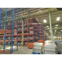 China Vertical Radio Shuttle  Heavy Duty Pallet Racking System  Industrial  CE  SGS TUV wholesale