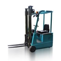 Buy cheap AC 1.0 -1.5 Ton Three Wheel Electric Forklift 24V Battery Powered Forklift Truck from wholesalers