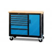 China Metal Industrial Mobile Workstation 6 Drawer Superior 5 Inch Wheel 1100*510*829 mm wholesale