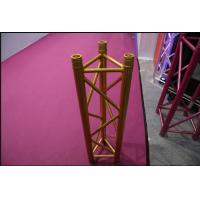 High Strength Display Aluminum Triangle Truss , Portable Triangular Lighting Truss Bolt Type