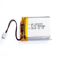 China 800mAh 3.7 V Lithium Polymer Battery Within 1C Rate wholesale