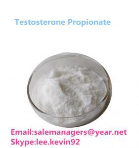 China Testosterone Propionate Test Prop CAS 57-85-2 White Crystal Powder wholesale