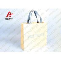 Cotton Rope LOGO Printable Promotional Paper Bags Small Size OEM Manufactures