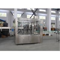 China Bottle Carbonated Soft Drink Filling Machine , Liquid Filling And Sealing Machine wholesale