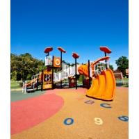 China Pour In Place Playground Surface Materials Pressure Resistant Easy To Install on sale