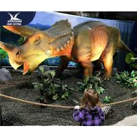 China Water Resistant 4 Meters Large Realistic Dinosaur Models For Museum / Square wholesale