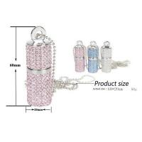 China OEM Promotional Usb Pen Drive , High Speed Crystal Customized Usb Flash Drive wholesale