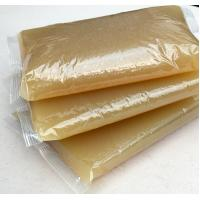 China Hot Melt Animal Jelly Yellow Hot Glue For Book Binding Corn Starch Material wholesale