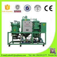 China China manufacture used lubricant transformer oil purification machine waste recycling on sale
