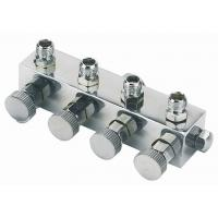 China High Durability Airbrush Spare Parts , 4 Way Airbrush Manifold Replacement A9-4 wholesale