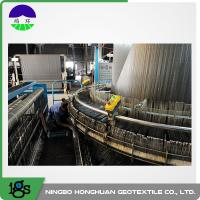 Recycled PP / Virgin PP Material Woven Geotextile Fabric For Separation 580g Manufactures