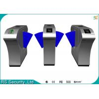 China Automatic Retractable Barrier Gate Turnstile, Mifare Flap Barrier Gate Turnstiles wholesale