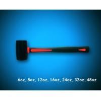 China black rubber mallet hammer with TPR handle wholesale